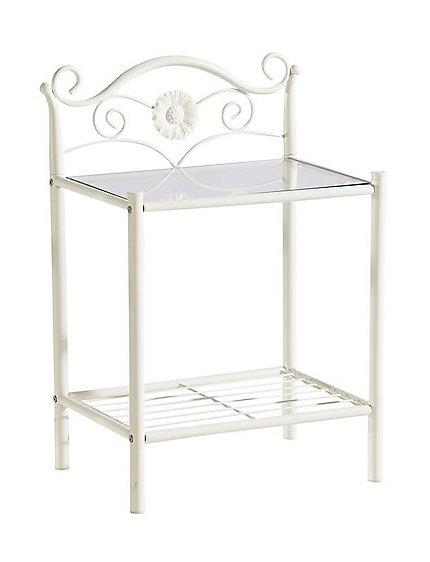 heine home metall nachttisch wei im heine online shop kaufen. Black Bedroom Furniture Sets. Home Design Ideas