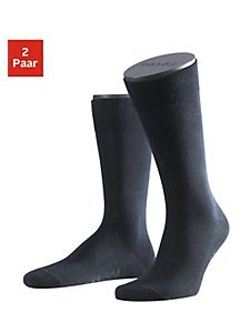 FALKE - Falke Socken »Family« (2 Paar) mit extrahohem Baumwollanteil