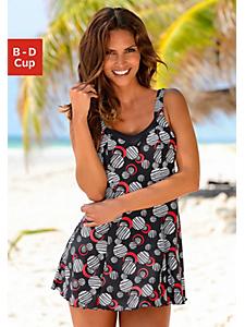 Lascana - LASCANA Badeanzug-Kleid