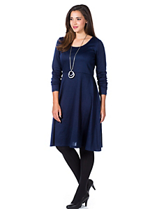 Sheego Style - sheego Style Jerseykleid in leichter A-Form