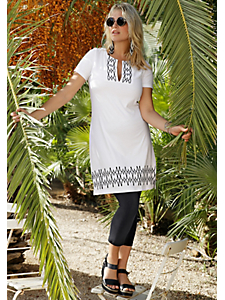 Sheego Casual - sheego Casual Jerseykleid mit Druck