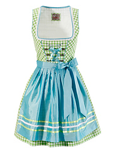 STOCKERPOINT - Dirndl kurz im Karodesign, Stockerpoint