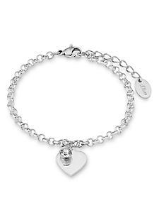 S.OLIVER RED LABEL - s.Oliver Armschmuck: Armband mit Swarovski® Kristall, »Herz, SO1346/1«