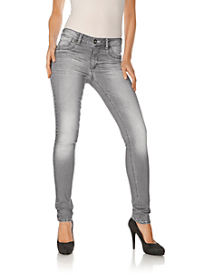 Ashley Brooke - Jeans mit Used-Waschung
