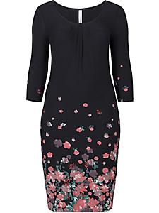 Sheego Style - sheego Style Jerseykleid mit Bordürendruck