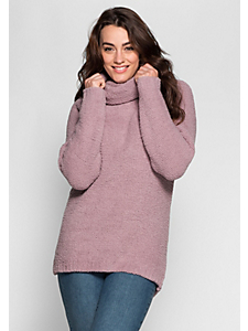 Sheego Casual - sheego Casual Kuscheliger Pullover aus Chenille