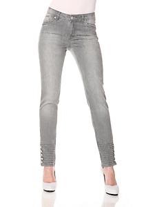 Linea Tesini - Jeans mit Nieten