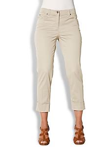 Ashley Brooke - 7/8-Hose mit geknöpften Gesäßtaschen