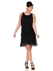 Sheego Style - sheego Style Kleid mit Volants
