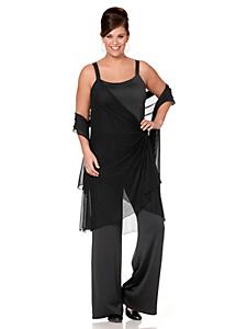 Sheego Style - sheego Style Jumpsuit im Lagenlook