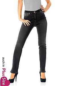 Ashley Brooke - Bodyform-Push-up-Jeans 5-Pocket Röhre
