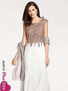 Ashley Brooke - Abendkleid mit Spitze und Pailletten