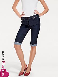Ashley Brooke - Bodyform-Capri-Jeans zum Krempeln